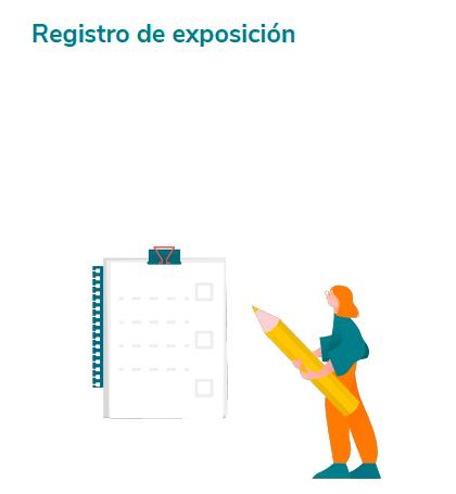 Registros de exposición